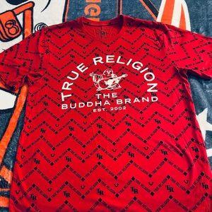 True Religion short sleeve shirt.